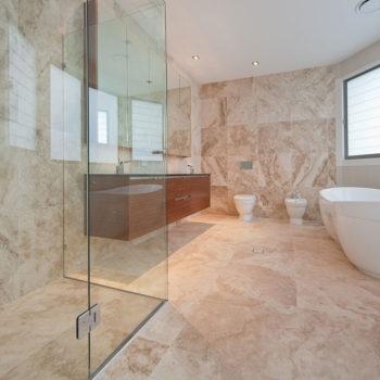 persian-beige-travertine-1-tiles-and-pietra-grey-vanity-top-1